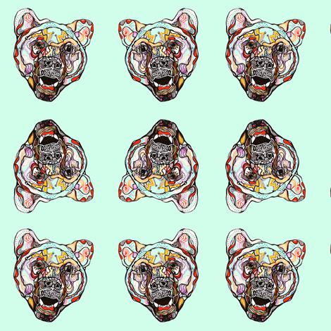 bear fabric by randi_antonsen on Spoonflower - custom fabric