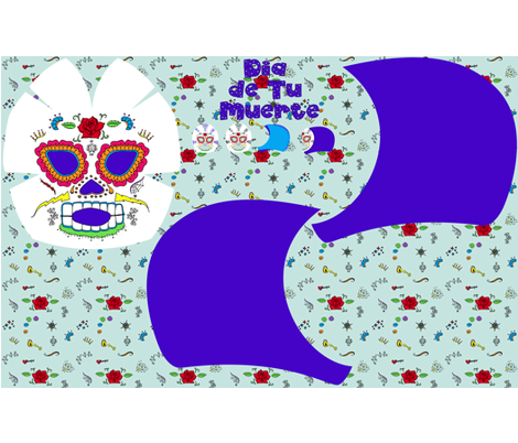 Lucha Libre Mask fabric by leighr on Spoonflower - custom fabric