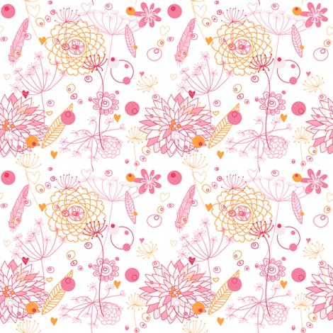 Floral. fabric by innaogando on Spoonflower - custom fabric