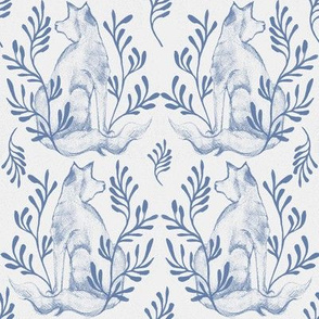Foxy Loxy Blue