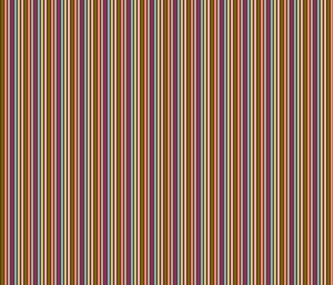 Multicolored Stripes fabric by hitomikimura on Spoonflower - custom fabric