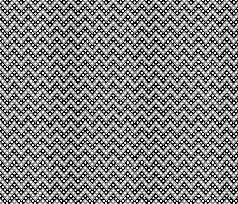 Small Zig Zag / Black Gray & White fabric by mjdesigns on Spoonflower - custom fabric