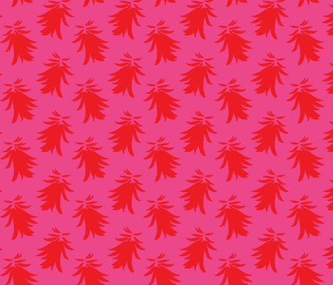 Coral Flower fabric by tracey_butterfield on Spoonflower - custom fabric