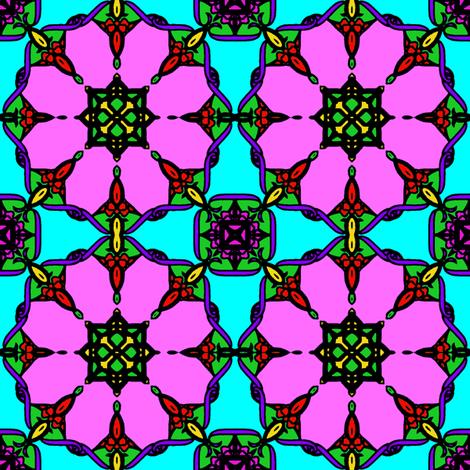 TiledArt2Iron1-2-ch fabric by grannynan on Spoonflower - custom fabric