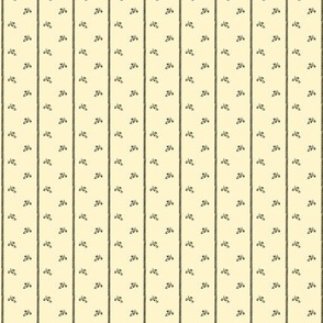 Tan and Charcoal stripe