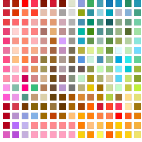 Color Chip fabric by joanmclemore on Spoonflower - custom fabric