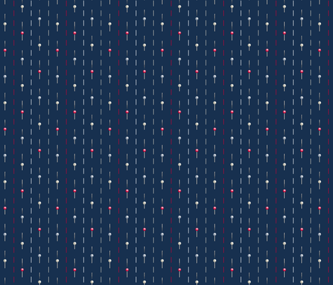 pinstripe 4 fabric by glimmericks on Spoonflower - custom fabric