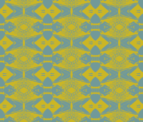 It's October, and I'm dreaming of May Now fabric by susaninparis on Spoonflower - custom fabric