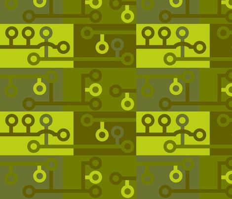 Camo Circuits 001 fabric by lowa84 on Spoonflower - custom fabric