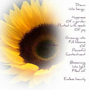 Sunflower Dream Poem