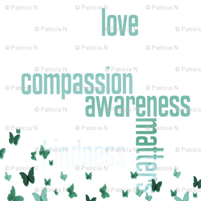 jewelsofawe's letterquilt Compassion Matters