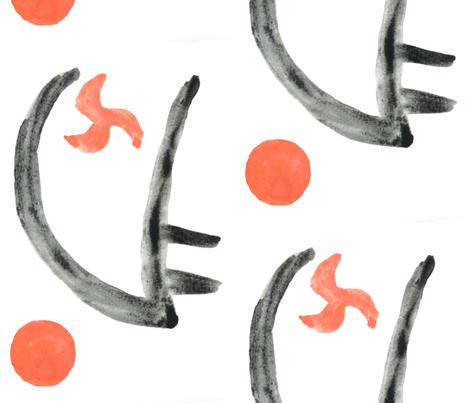 Abstract Motif fabric by queeninmyownmind on Spoonflower - custom fabric