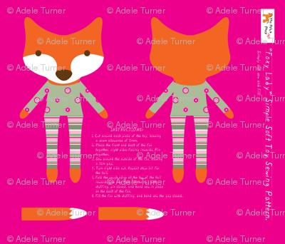'Foxy Lady' plushie