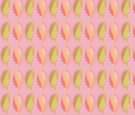 Soft Leaves fabric by meredithjean on Spoonflower - custom fabric