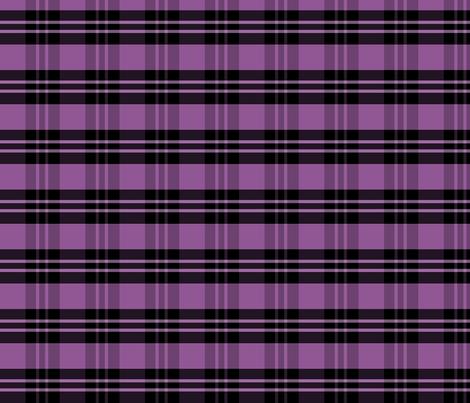 Purple Plaid fabric by pond_ripple on Spoonflower - custom fabric