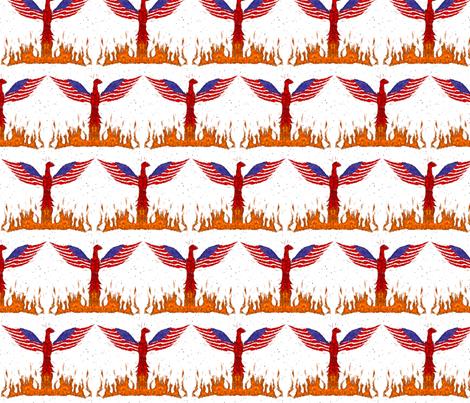 Rising fabric by ninjaauntsdesigns on Spoonflower - custom fabric