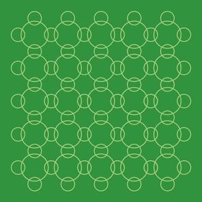 seven (green circles)
