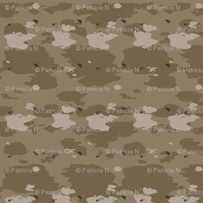 Light Brown Desert Camouflage