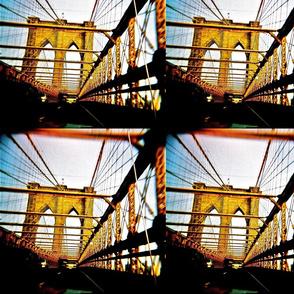 Holga Brooklyn Bridge