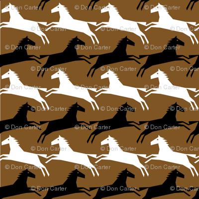 brown horsetooth