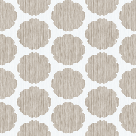 Lost in a Daydream - Antique White fabric by kristopherk on Spoonflower - custom fabric