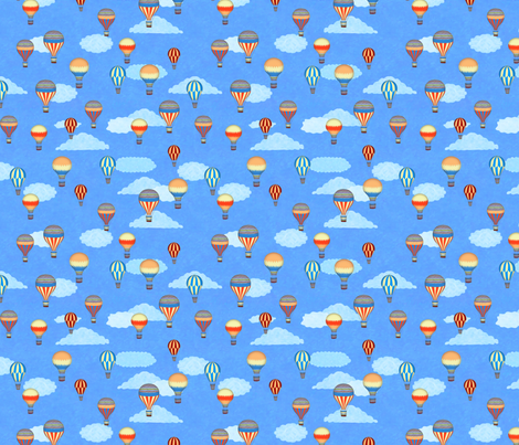 Into the Blue fabric by kezia on Spoonflower - custom fabric