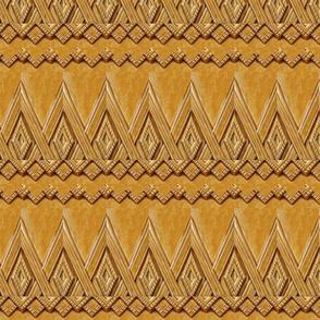 Mayan Deco Gold