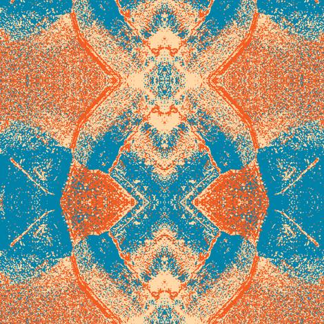 Bug Eyes Orange fabric by susaninparis on Spoonflower - custom fabric