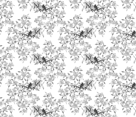 birdsV3 fabric by klowe on Spoonflower - custom fabric
