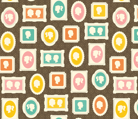 Happy Days fabric by clairicegifford on Spoonflower - custom fabric