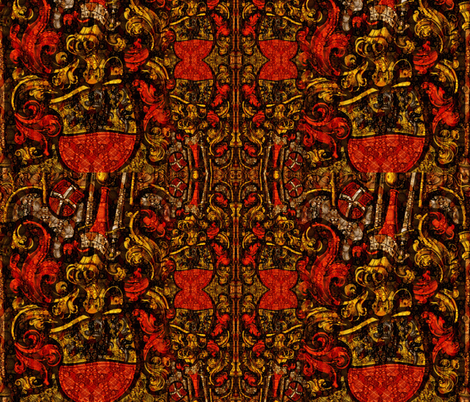 The Armor Royal fabric by whimzwhirled on Spoonflower - custom fabric