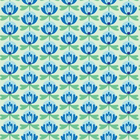 lilliblue fabric by lilliblomma on Spoonflower - custom fabric