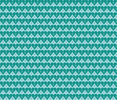 hüttenart2dark fabric by lilliblomma on Spoonflower - custom fabric