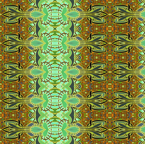 The First Thing in Autumn fabric by edsel2084 on Spoonflower - custom fabric