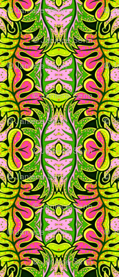 Pink and Green Tropical
