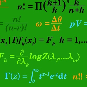 Equations and Equations - Green