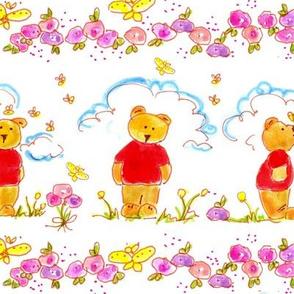 Teddy Bear Honey Bee