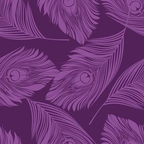 Feathered - Purple