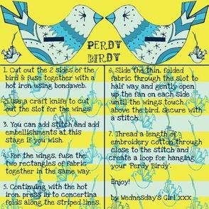 perdy birdy blue