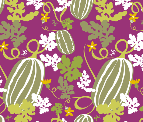 Watermelons fabric by marlene_pixley on Spoonflower - custom fabric