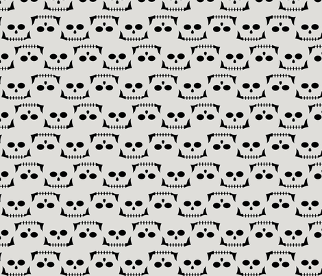 I see dead people fabric by slothdaddy on Spoonflower - custom fabric