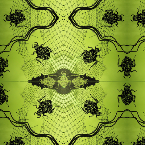 Garden Variety Bugs fabric by donna_kallner on Spoonflower - custom fabric