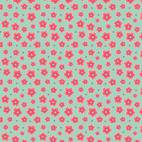Dusty Prints fabric by eppiepeppercorn on Spoonflower - custom fabric
