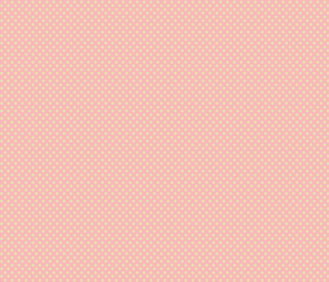 yellow polka dots resting on pink fabric by kato_kato on Spoonflower - custom fabric