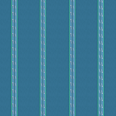 pinstripe blues fabric by glimmericks on Spoonflower - custom fabric