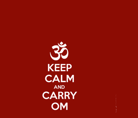 Keep_OM_18X24-ch fabric by marionwilhelm on Spoonflower - custom fabric