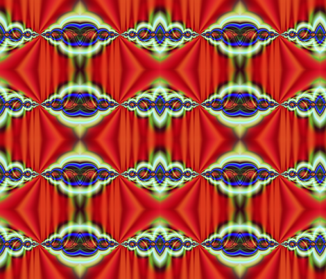 Artificial Abstract fabric by glanoramay on Spoonflower - custom fabric