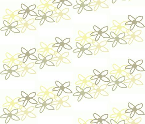 Flower Field fabric by theladyinthread on Spoonflower - custom fabric