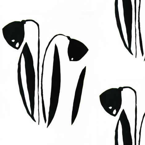 PICT0235 Elegant Lilies of the Field fabric by josephinefletcher on Spoonflower - custom fabric