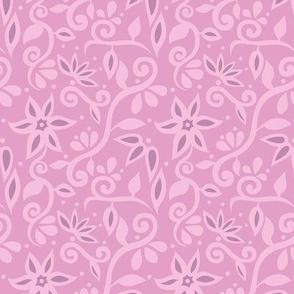 Rapunzel Floral Pink